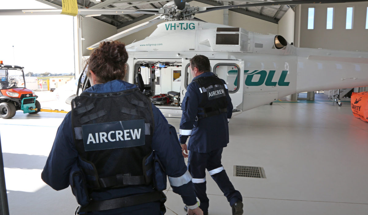 Over 350 missions from the NSW Ambulance & Toll Rescue Helicopter Base in Orange